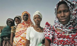 The women of Mauritania