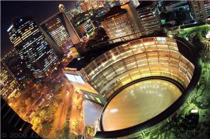 Plaza Semanggi (at night)