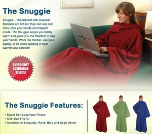 Snugg(ie) as a bug in a rug!